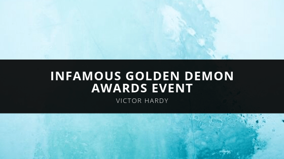 Victor Hardy - infamous Golden Demon Awards Event